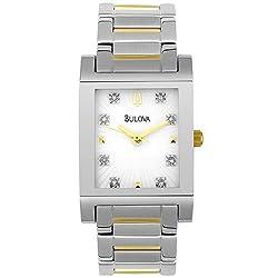 Bulova Women's 98P39 Diamond Accent Watch