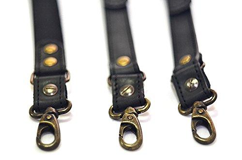 Suspenders for men, double clip suspenders, men suspenders braces Y-back by AGE (Image #4)