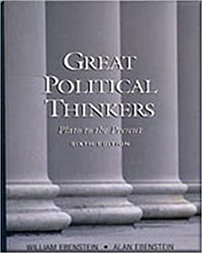 great political thinkers from plato to the present