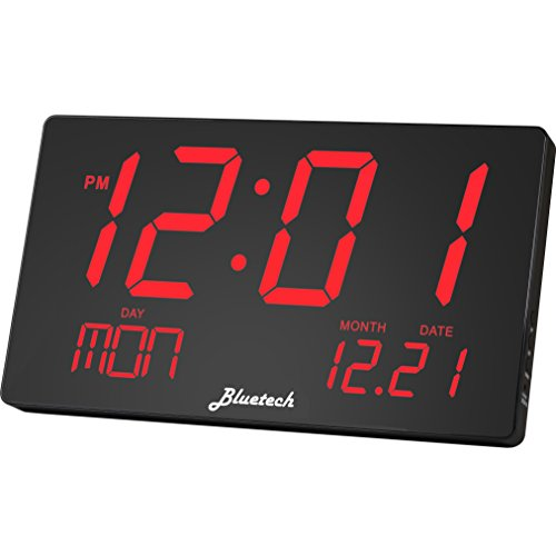 Top 10 Best Led Wall Clock Battery Operated Reviews 2019