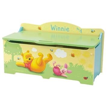 Petit Coffre à Jouets Winnie Lourson Disney Amazonfr Bébés