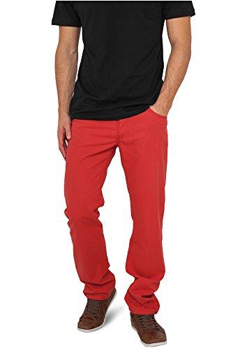 Urban Classics Pantalón  Rojo W34
