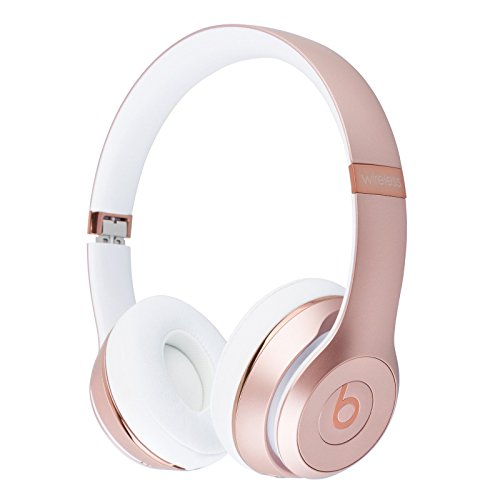 Beats Solo3 Wireless On-Ear Headphones - Rose Gold...