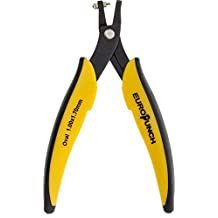 Eurotool EuroPunch 1x1.7mm Oval Hole Punch Pliers For Sheet Metal
