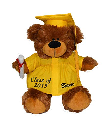 Tri Color Graduation Bear 12