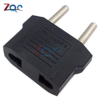 Hot 5Pcs US//USA to European EU Travel Charger Adapter Plug Outlet Converter KY