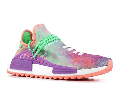 Adidas Mens Pw Hu Holi Nmd Mc Pharrell Razza Umana Colorante Corallo Tessuta