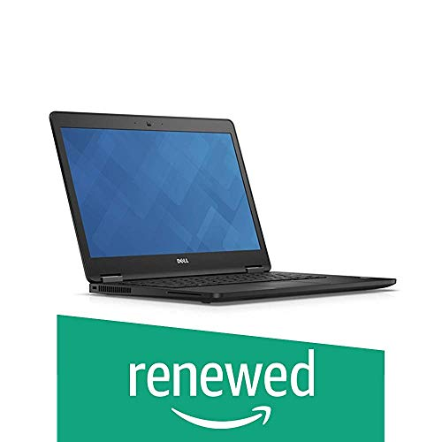 Dell Latitude 14 7000 Series E7470 Ultrabook, 14.0inch HD Anti-Glare LCD, Intel Core i7-6600U, 8 GB DDR4, 256 GB SSD, Windows 10 Pro (Renewed)