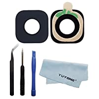 YUYOND New Back Camera Glass Lens Cover For Samsung Galaxy S7 Active AT&T G891A + Tools + Clean Cloth