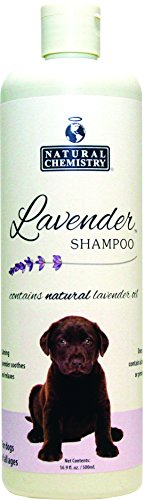 Natural Lavender Shampoo for Pets, 16.9-Ounce