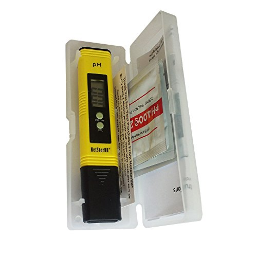 Netstar88® High Accuracy Pocket Automatic pH Meter NSM01;...