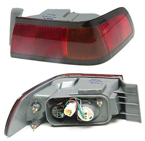 Well Auto Tail Light Assembly with Harness and Bulb Toyota Camry 97-99 Passenger Side