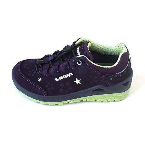 Lowa Marie Gtx - Zapatos de cordones de Piel para niña morado