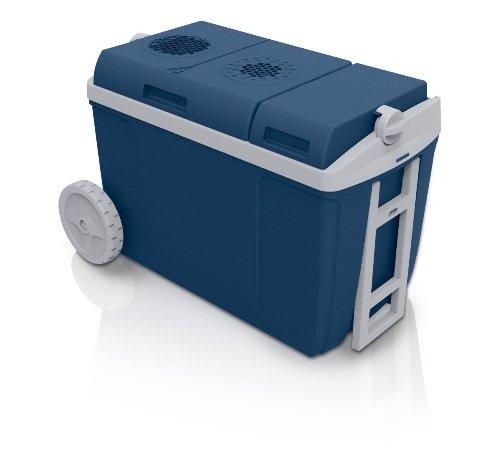 MOBICOOL 9103501292 Elektrische Trolley-Kühlbox für Auto und Steckdose W38 AC/DC A++, 12/230 Volt, 37 Liter