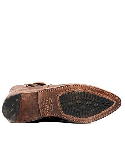 bed stu Women's Dipper Boot, Teak Rustic Rust, 9 M US by Bed|Stu (Image #4)
