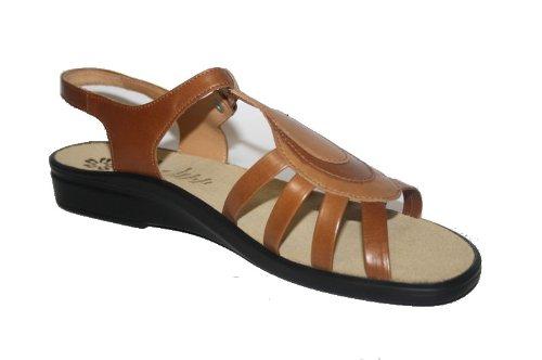 Ganter - Sandalias de Vestir Mujer - - camel/brandy