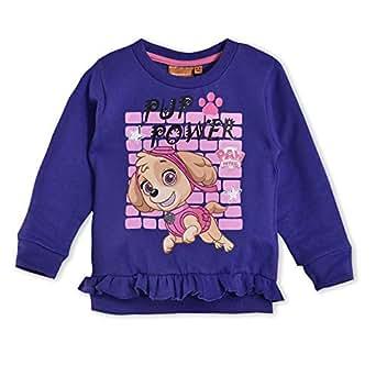 Pawpetrol Girls Sweat Shirt,Purple HWGLPPJS81
