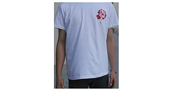VALENTO - Camiseta - Cuello Redondo - para Hombre Blanco Blanco ...