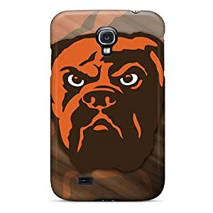 L.M.CASE Zcg4514vAHn Protective Case For Galaxy S4(cleveland Browns)
