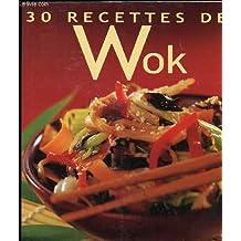 30 recettes de Wok
