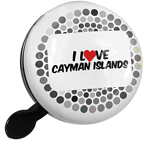 NEONBLOND Bike Bell I Love Cayman Islands Scooter or Bicycle ()