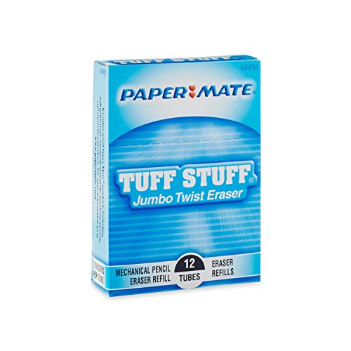 Paper Mate Jumbo Twist Eraser, Pack of 12 (64881) by Paper Mate (Image #2)