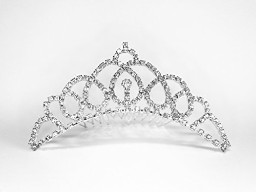Princess Maria - Frozen Winter Collection - Girl & Lady Tiara w Comb