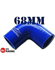 4-ply Silicone 90 Degree Elbow Connector Joiner Turbo Hose Pipe