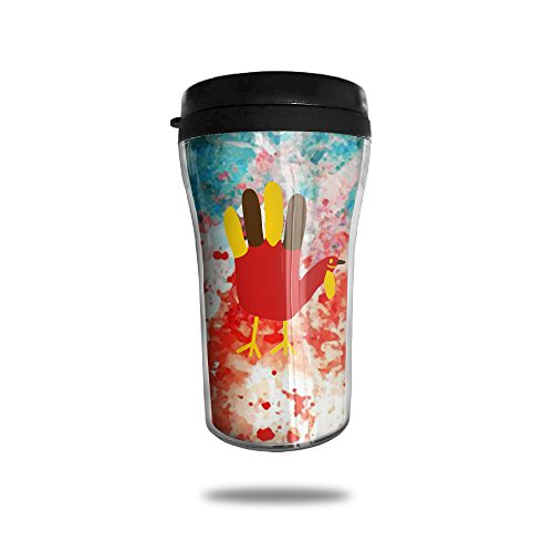 Price comparison product image Hand Turkey Vacuum Insulated Stainless Steel Travel Tumbler ,  8.5 Oz
