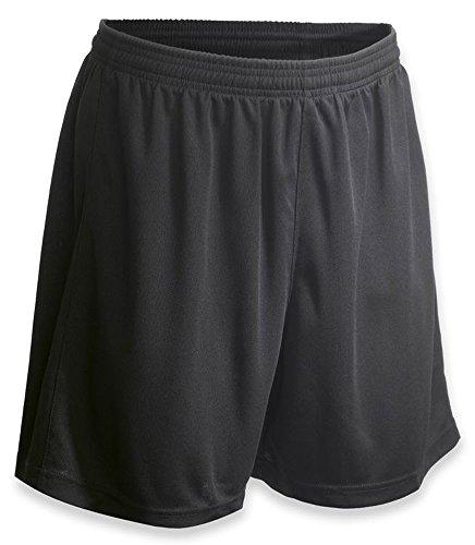 Vizari Napa Soccer Shorts, Black, Adult Medium