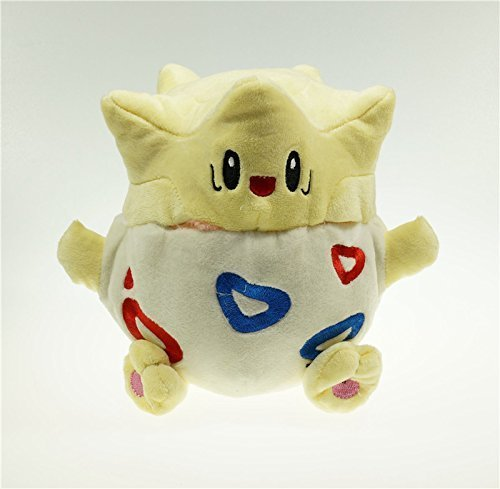 20cm 7.9 Pokemon Togepi Plush Toy Stuffed Doll Figure by Cutepower