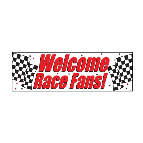 Creative Converting 291724 Welcome Race Fans ()