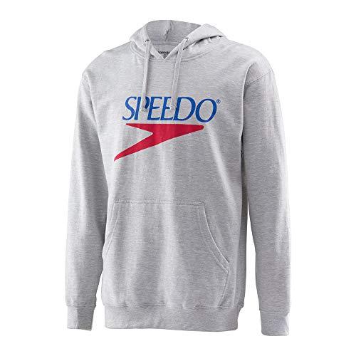 Speedo Vintage Collection Logo Fleece Hoodie, GREY, X-Large