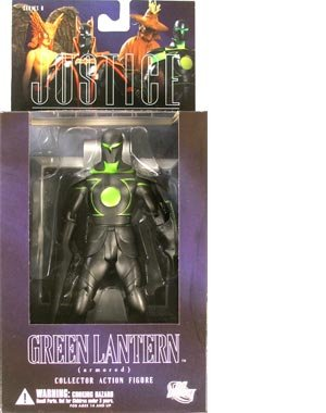 DC Direct Justice League Alex Ross Series 6 Action Figure Armored Green Lantern by DC Comics