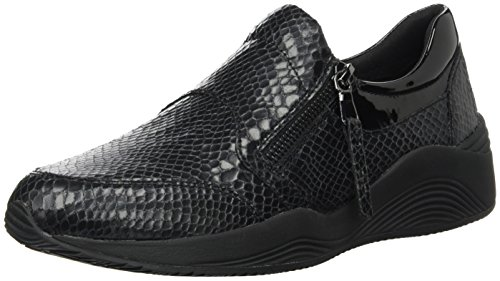 Basse Omaya A Nero Sneakers Donna nero Geox D C9999 XTgUxScw