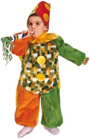 Rio - Disfraz de payaso para niño, talla 3-4 años (103376/TG02 ...