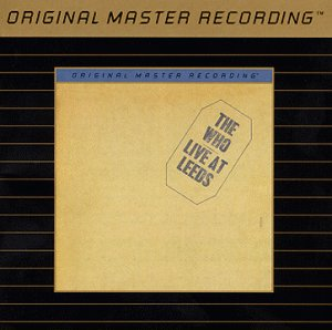 Live at Leeds (Original Master Recording) by Mobile Fidelity Sound Lab