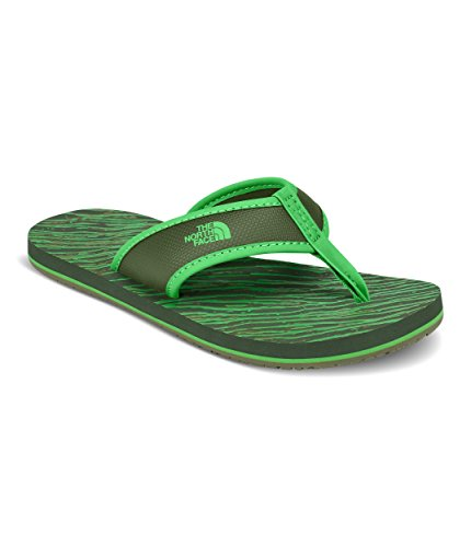 The North Face Kids Unisex Base Camp Flip-Flop (Toddler/Little Kid/Big Kid) English Green/Classic Green (Prior Season) 8 M US Toddler