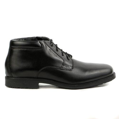 Rockport Men's Essential Details Water Proof Chukka Boot,Black,9 M US - Rockport Man Boots
