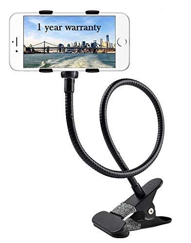 AC Accessories Universal Flexible Lazy Arm Cell Phone Holder Bracket Mount Adjustable Clamp Clip Mobile Stand
