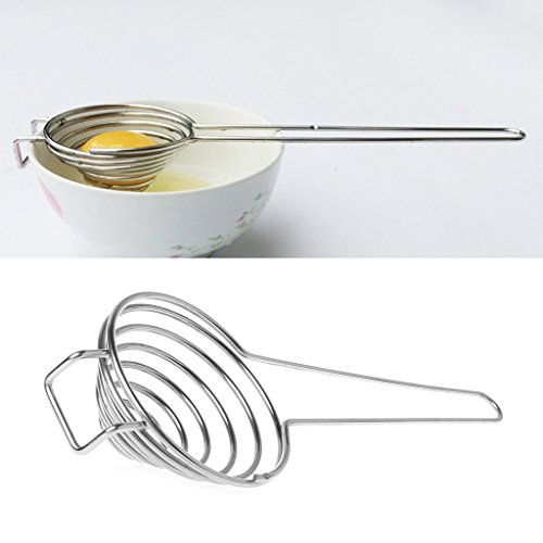 Stainless Steel Egg White Separator Yolk Filter Kitchen Gadgets Sieve Tool Hot