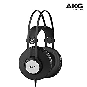 AKG Pro Audio K72 Over-Ear, Closed-Back, Studio Headphones, Matte Black