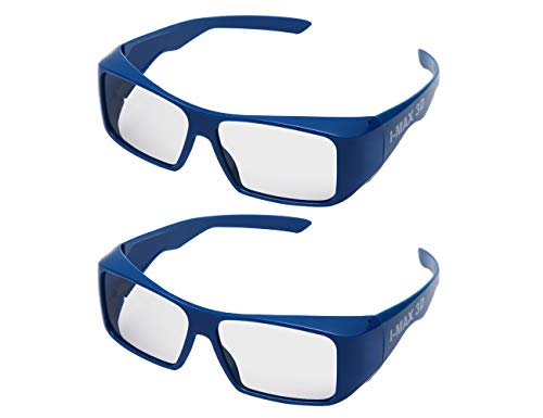 Handsun Super Clear IMAX 3D Glasses for 3D IMAX Movie,Cinema and Theater(2PACK).