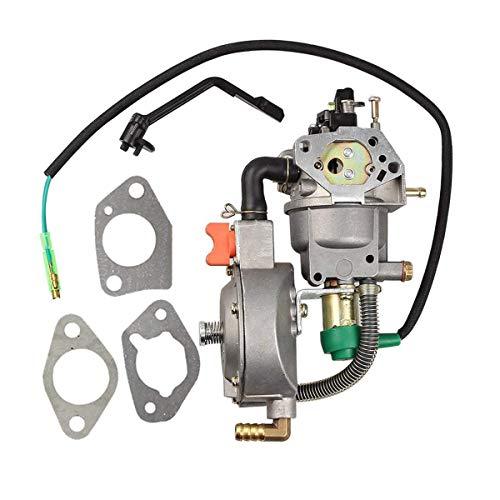 (Amhousejoy Dual Fuel Carburetor LPG NG Conversion Fits for Honda GX270 Generator)