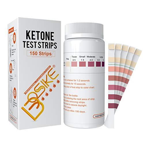 BOSIKE Ketone Test Strips, 150 Ketosis Measuring Strips Kit, Accurate and Professional Meter Measurement of Urinalysis…