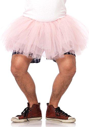 Leg Avenue Men's Tutu Costume Accessory, Pink, One Size]()