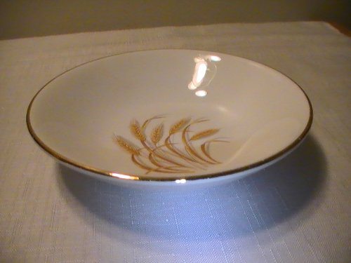 Vintage Homer Laughlin - Homer Laughlin Golden Wheat Fruit/Dessert (sauce) Bowl - One Bowl
