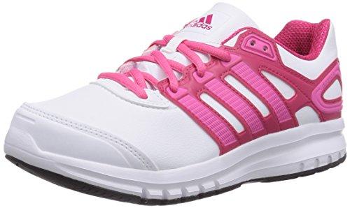 adidas Duramo 6, Baskets Basses Mixte enfant Rose - Pink (Ftwr White/Semi Solar Pink/Vivid Berry S14)