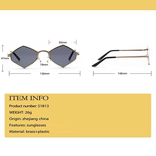 Polarizado Libre Aire polarizadas al de Unisex Sol UV400 Vintage Sunglasses Clásico metálico inspirado Gafas Portección Redondo xwqFHPItFW
