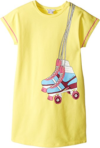 Price comparison product image Little Marc Jacobs Girl's Essential Jersey Dress (Little Kids / Big Kids) Medium Yellow Dress